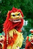 Bailarines del león Imagen de archivo libre de regalías