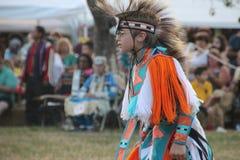 Bailarines del nativo americano en prisionero de guerra-guau Foto de archivo