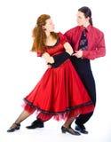 Bailarines del oscilación Fotos de archivo libres de regalías