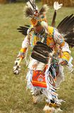 Bailarines del prisionero de guerra del nativo americano guau fotos de archivo