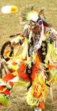 Bailarines del prisionero de guerra del nativo americano guau fotografía de archivo