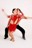 Bailarines del salón de baile Fotos de archivo libres de regalías