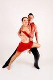 Bailarines del salón de baile Foto de archivo