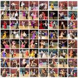 Bailarines del salón de baile Fotografía de archivo