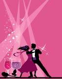 Bailarines del salón de baile. Fotos de archivo libres de regalías