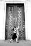 Bailarines del tango Imagen de archivo