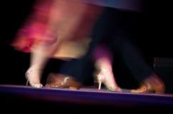 bailarines del tango Fotografía de archivo libre de regalías