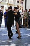 Bailarines 142 del tango Imagen de archivo libre de regalías