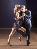 Bailarines del tango Fotografía de archivo