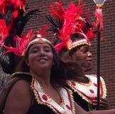 Bailarines en el desfile Edmonton 2013 de Cariwest Fotografía de archivo libre de regalías