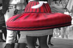 Bailarines en el movimiento Imagen de archivo libre de regalías