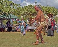 Bailarines entre tribus Foto de archivo libre de regalías