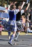 Bailarines escoceses fotos de archivo libres de regalías