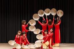 Bailarines - festival internacional de la danza Foto de archivo libre de regalías
