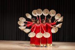 Bailarines - festival internacional de la danza Fotos de archivo