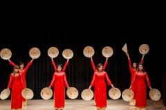 Bailarines - festival internacional de la danza Imagen de archivo libre de regalías