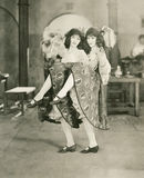 Bailarines gemelos Foto de archivo