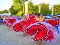 Bailarines imponentes Imagen de archivo