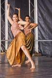 Bailarines indios Foto de archivo