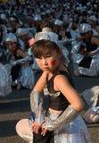 Bailarines japoneses del festival de los niños jovenes Fotos de archivo libres de regalías
