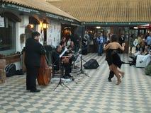 Bailarines latinoamericanos del tango foto de archivo libre de regalías
