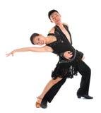 Bailarines latinos Fotografía de archivo libre de regalías