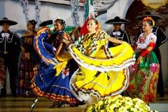 Bailarines mexicanos Foto de archivo libre de regalías