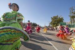 Bailarines mexicanos tradicionales Imagen de archivo