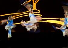 Bailarines modernos chinos Fotos de archivo libres de regalías