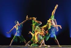 Bailarines nacionales chinos Foto de archivo libre de regalías