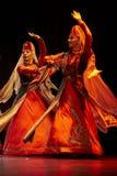 Bailarines pedagógicos de la universidad del estado armenio Fotos de archivo