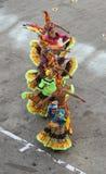 Bailarines tradicionales en Cartagena, Colombia Fotografía de archivo libre de regalías
