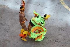 Bailarines tradicionales en Cartagena, Colombia Fotos de archivo libres de regalías