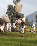 Bailarines tribales de Sacola fotografía de archivo