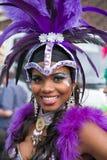 Bailarín de la samba Fotografía de archivo libre de regalías