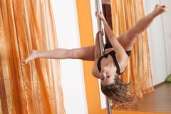 Bailarín de poste Imágenes de archivo libres de regalías
