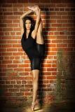 Bailarín de sexo femenino Fotos de archivo