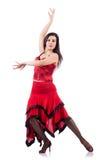 Bailarín de sexo femenino Imagenes de archivo