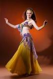 Bailarín de vientre Imagen de archivo libre de regalías