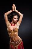Bailarín de vientre Fotografía de archivo libre de regalías