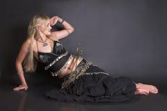 Bailarín de vientre Fotos de archivo libres de regalías