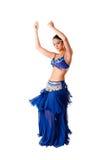 Bailarín de vientre de la belleza Fotografía de archivo libre de regalías
