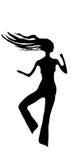 Bailarín del club   Imagen de archivo libre de regalías