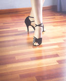 Bailarín del latín de la danza de salón de baile Fotografía de archivo