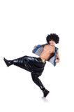 Bailarín del rap Imagen de archivo libre de regalías