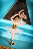 Bailarín del rectángulo de música Foto de archivo