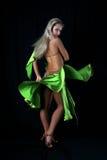 Bailarín latino Foto de archivo libre de regalías