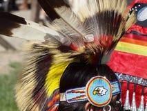 Bailarín norteamericano nativo Imagen de archivo libre de regalías