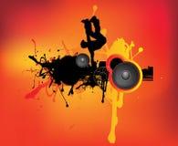 Bailarín urbano del grunge Fotos de archivo libres de regalías