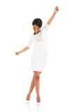Baile africano de la mujer fotografía de archivo libre de regalías